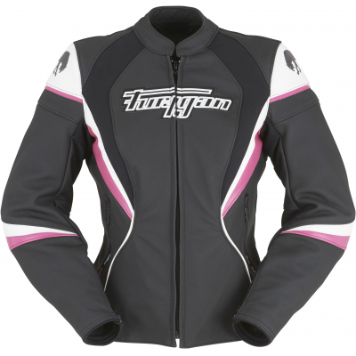 FURYGAN bunda XENIA RACING dámská black/white/pink