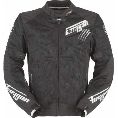 FURYGAN bunda HURRICANE VENTED black/white