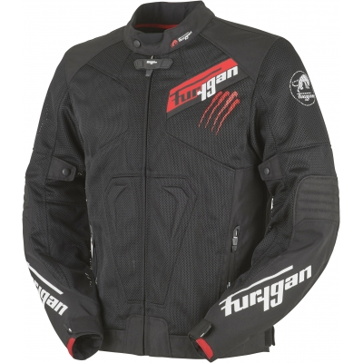 FURYGAN bunda HURRICANE VENTED black/red