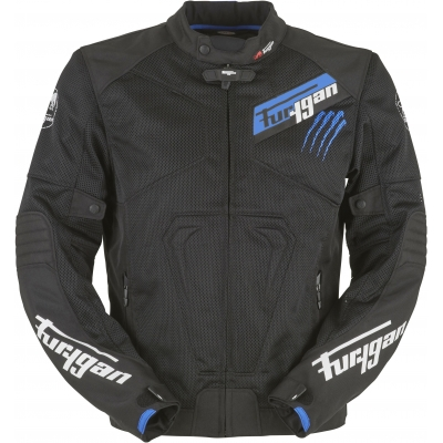 FURYGAN bunda HURRICANE VENTED black/blue