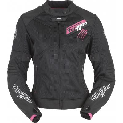 FURYGAN bunda PANTHA LADY VENTED dámská black/pink