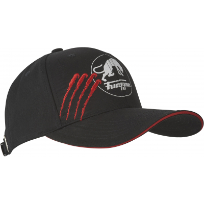 FURYGAN kšiltovka CLAW EVO black/white/red