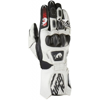 FURYGAN rukavice FIT-R2 white/black