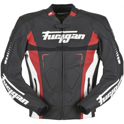 FURYGAN bunda TRACK black/white/red