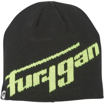 FURYGAN čiapka MOORE black / fluo yellow