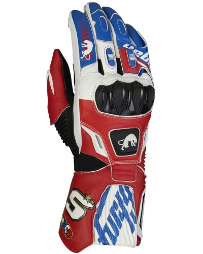 FURYGAN rukavice FIT-R2 ZARCO pánské blue/white/red