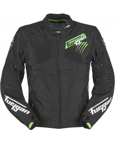 FURYGAN bunda HURRICANE black/fluo green