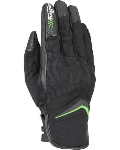 FURYGAN rukavice OKSI D3O black/green