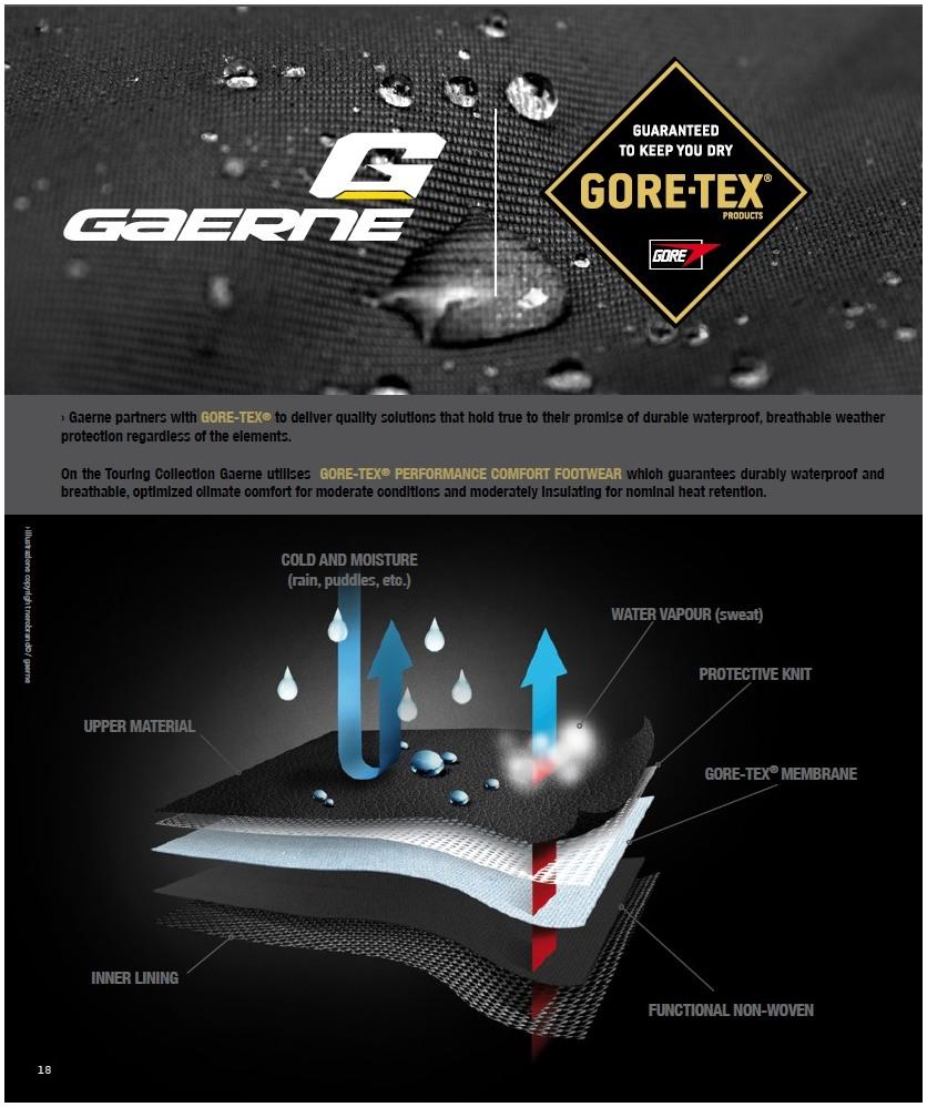 GAERNE boty BLACK ROSE Gore-Tex dámské  6c06e2b5ac