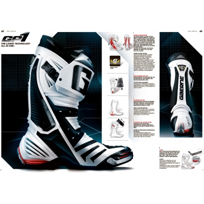 GAERNE topánky GP1 white