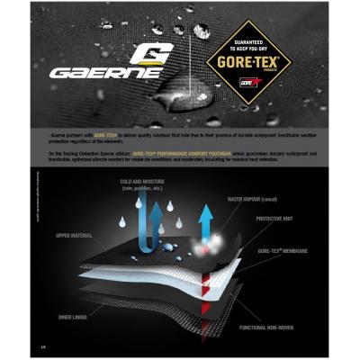 GAERNE topánky G.PRESTIGE Gore-Tex black