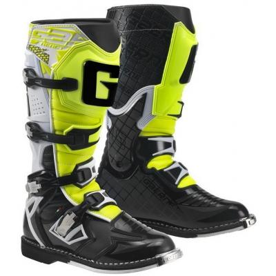 GAERNE boty G-REACT GOODYEAR white/black/yellow