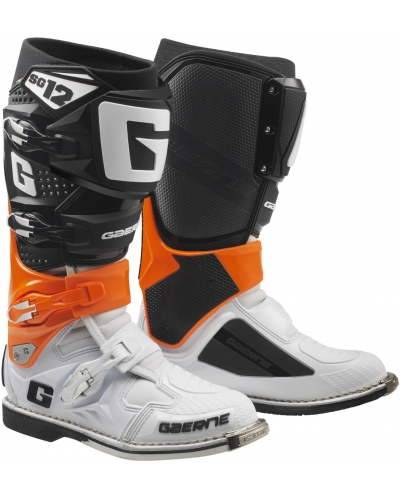 GAERNE boty SG-12 orange/black/white