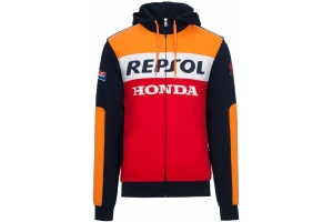 GP APPAREL mikina REPSOL HONDA blue/red