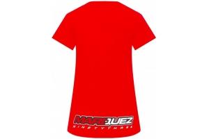 GP APPAREL triko MM93 BIG LOGO Marquez dámské red