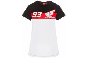 GP APPAREL triko DUAL HONDA 93 dámské white