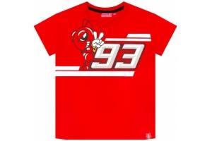 GP APPAREL triko MM93 Marquez dětské red