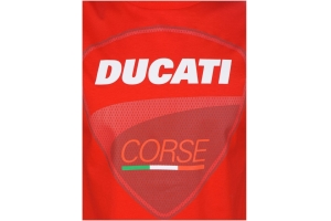 GP APARREL triko DUCATI CORSE BIG LOGO red