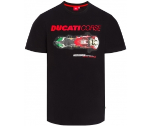 GP APARREL triko DUCATI CORSE PRINT black