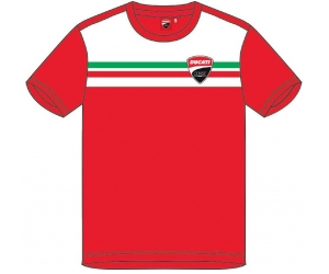 GP APARREL triko DUCATI CORSE STRIPES red