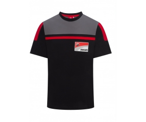GP APARREL triko DUCATI CORSE black/grey