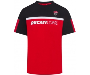 GP APARREL triko DUCATI CORSE black/red