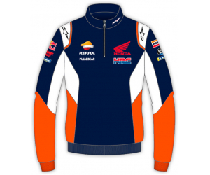 GP APPAREL mikina REPSOL HONDA Alpinestars blue/white/orange