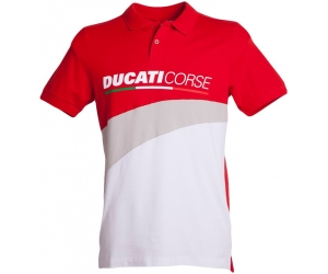 GP APARREL polo triko DUCATI CORSE RACING red