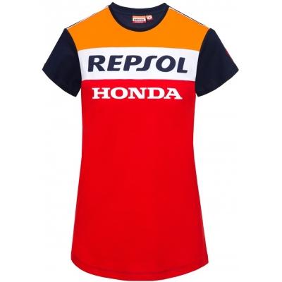 GP APPAREL triko REPSOL HONDA dámské blue/red