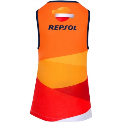 GP APPAREL tielko REPSOL HONDA dámske orange / red