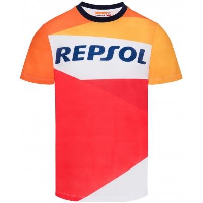 GP APARREL triko REPSOL HONDA orange/red