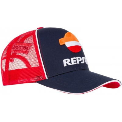GP APARREL šiltovka REPSOL HONDA Trucker blue / red