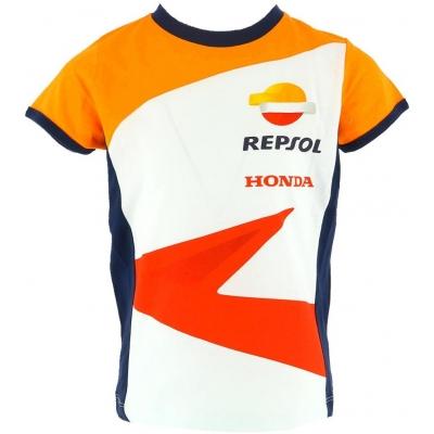 GP APPAREL triko REPSOL HONDA dětské white
