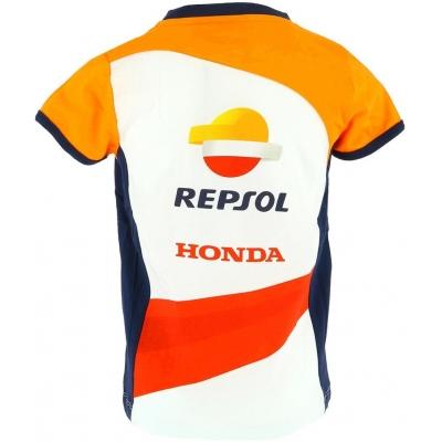 GP APPAREL tričko REPSOL HONDA detské white