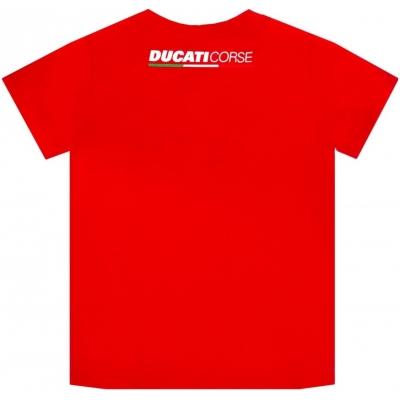 GP APARREL tričko DUCATI CORSE PRINT detské red