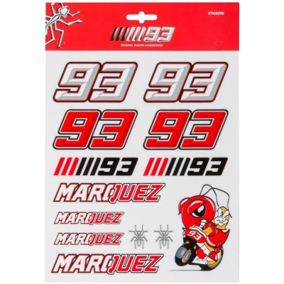GP APPAREL nálepky MM93 Large
