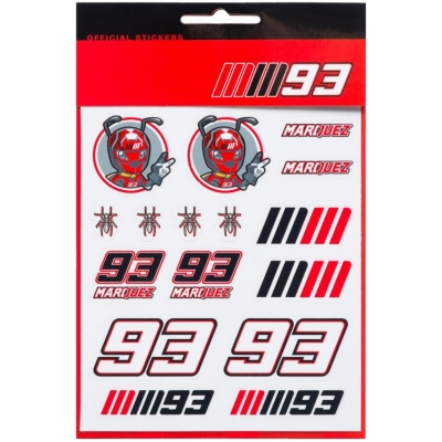 GP APPAREL nálepky MM93 Medium