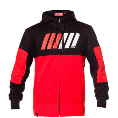 GP APPAREL mikina MM93 red/black