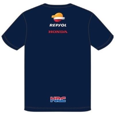 GP APPAREL tričko REPSOL HONDA detské red/white