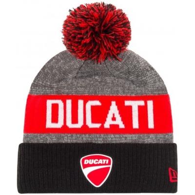 GP APPAREL čiapka DUCATI New Era red/grey/black