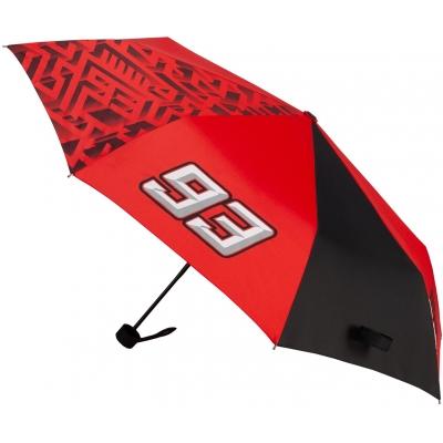 GP APPAREL deštník MM93 Labyrinth Skládací red/black