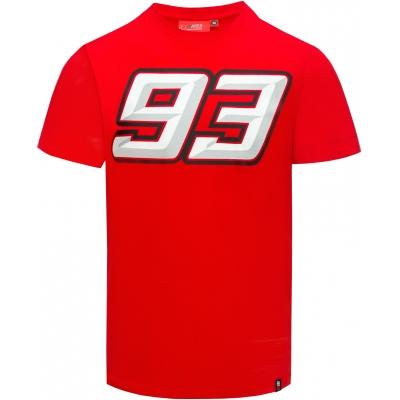 GP APPAREL tričko MM93 Ant red