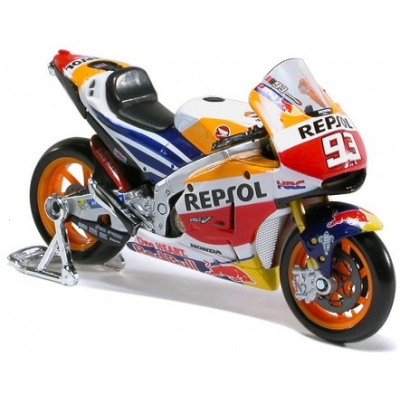 GP APARREL model motorky REPSOL HONDA MM93 blk/wht/org/red