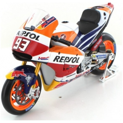 MAISTO model motorky REPSOL HONDA MM93 2017 blk/wht/org/red