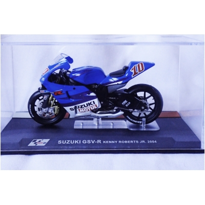 DEAGOSTINI model motorky GP SUZUKI GSV-R Kenny Roberts Jr. 2004