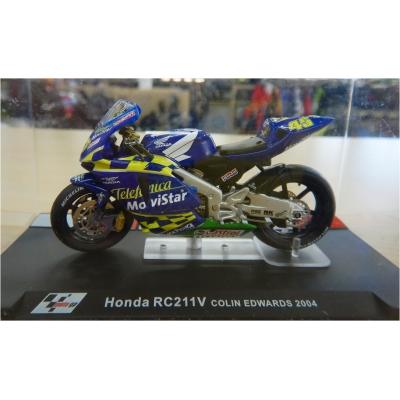 DEAGOSTINI model motorky GP HONDA RC211V Colin Edwards 2004