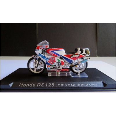 DEAGOSTINI model motorky GP HONDA RS125 Loris Capirossi 1991