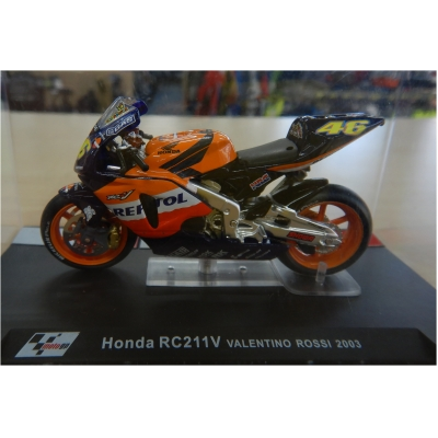DEAGOSTINI model motorky GP HONDA RC211V Valentino Rossi 2003
