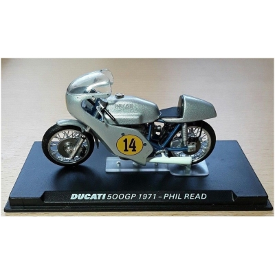 DEAGOSTINI model motorky DUCATI 500GP Phil Read 1971