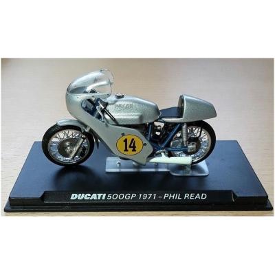 MINICHAMPS model motorky DUCATI 500GP Phil Read 1971